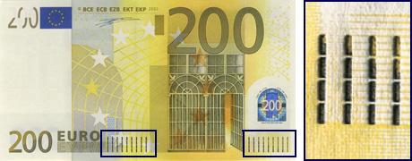 Защита евро - Подлинность евро купюр и банкнот
