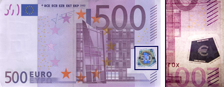 Проверка банкнот евро на подлинностьКак отличить