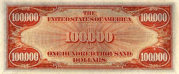 Купюры доллара США - банкноты долларов