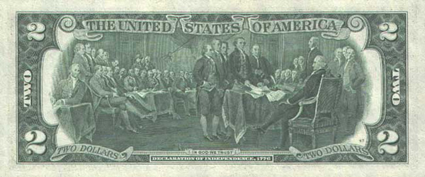 2 доллара джефферсон: